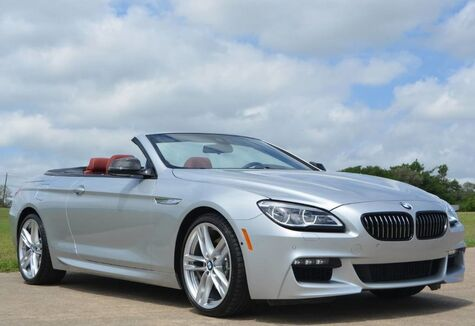 2017 BMW 6 Series 640i M Sport Edition Convertible Fort Worth TX