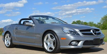 2011 Mercedes-Benz SL-Class SL550 Convertible Roadster Fort Worth TX