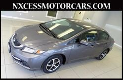 2015 Honda Civic Sedan SE AUTOMATIC BACK-UP/SIDE CAMERA 1-OWNER. Houston TX