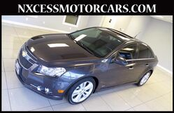 2014 Chevrolet Cruze LTZ AUTO LEATHER BACK-UP CAMERA CLEAN CARFAX. Houston TX