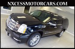 2014 Cadillac Escalade ESV Platinum DVD ENTERTAINMENT SYSTEM CLEAN CARFAX. Houston TX