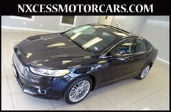 2014 Ford Fusion SE PWR/LEATHER/HEATED SEATS NAVIGATION 1-OWNER. Houston TX