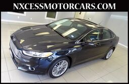 Ford Fusion SE PWR/LEATHER/HEATED SEATS NAVIGATION 1-OWNER. 2014