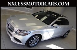 2016 Mercedes-Benz C-Class C300 SPORT SEDAN PREMIUM PKG NAVIGATION PANORAMA. Houston TX