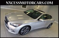 2014 INFINITI Q50 NAVIGATION BACK-UP CAMERA 1-OWNER. Houston TX