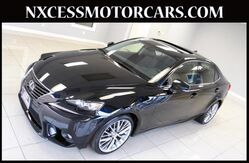 2014 Lexus IS 250 BSM REAR CAM NAVIGATION 1-OWNER!!! Houston TX