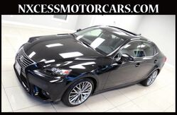 2014 Lexus IS 250 XENON BACK-UP CAM VENTILATED SEATS 1-OWNER. Houston TX