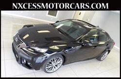 2015 Lexus IS 250 NAVIGATION BACK-UP CAM BSM 1-OWNER. Houston TX