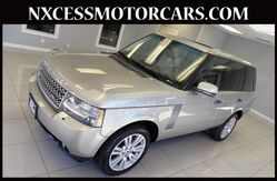 2010 Land Rover Range Rover HSE LUX WINTER PKG 3-ZONE A/C 1-OWNER. Houston TX