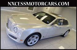2013 Bentley Mulsanne REAR POWER SEATS SHADES/TABLE. Houston TX
