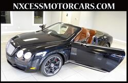 2008 Bentley Continental GT CONVERTIBLE CLEAN CARFAX LOW MILES. Houston TX