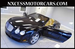 2007 Bentley Continental GT CONVERTIBLE CLEAN CARFAX LOW MILES. Houston TX