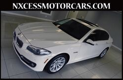 2015 BMW 5 Series 535i NAVIGATION BACK-UP CAM HUD 1-OWNER. Houston TX