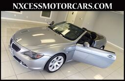 BMW 6 Series 650i CONVERTIBLE SPORT/PREMIUM/HEATED PKG CLEAN CARFAX. 2007