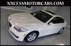 2011 BMW 5 Series 528i PREMIUM/SHADE PKG NAVIGATION. Houston TX