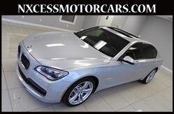 2015 BMW 7 Series 750Li M-SPORT PKG HUD OLFUSEN AUDIO 1-OWNER. Houston TX