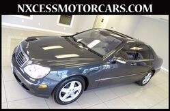 2004 Mercedes-Benz S-Class PREMIUM PKG JUST 49K MILES. Houston TX