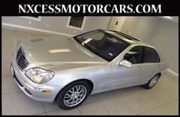 Mercedes-Benz S-Class S500 PREMIUM PKG LOW MILES 1-OWNER. 2003