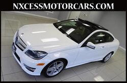 2013 Mercedes-Benz C-Class C350 SPORT COUPE PREMIUM PKG PANO ROOF LOW MILES. Houston TX