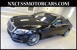 2015 Mercedes-Benz S-Class S 550 PRM/SPORT/DRIVER ASSIST PKG MSRP $113K 1-OWNER. Houston TX
