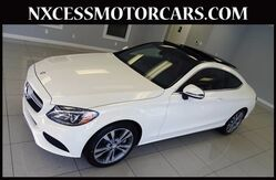 2017 Mercedes-Benz C-Class C 300 SPORT COUPE PREMIUM PKG PANO-ROOF NAVIGATION. Houston TX