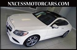 2017 Mercedes-Benz C-Class C300 PANO/BSM/NAV/PRM PKG BURMESTER AUDIO. Houston TX