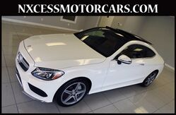 2017 Mercedes-Benz C-Class C 300 SPORT/PREMIUM PKG PANO-ROOF 1-OWNER. Houston TX