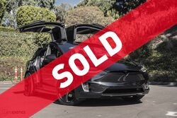 Tesla Model X P90D Insane 2016