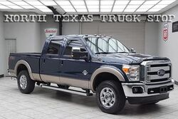 Ford Super Duty F-250 Lariat Diesel 4x4 Leather Rear Camera Crew Cab 2013