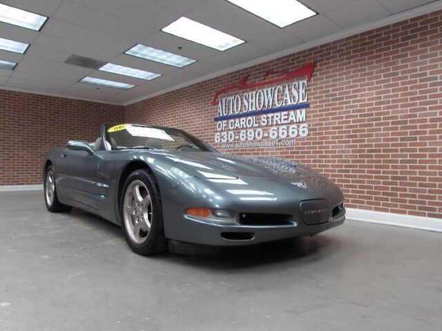 2003 Chevrolet Corvette Convertible 6spd Carol Stream IL
