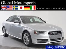 2014 Audi S4 Premium Plus/Navigation/Quattro/Rear Camera/Heated Seats/Bluetooth Nashville TN