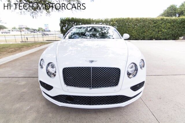 2017 Bentley Continental GT Speed Coupe GT Speed Austin TX