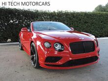 2017 Bentley Continental GTC Speed Black Edition  Austin TX