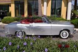 No Make Mercedes Benz 220S Cabriolet 1957