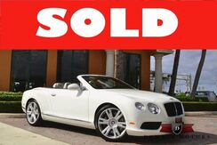 2013 Bentley Continental GT V8  Deerfield Beach FL