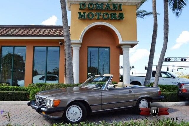 1988 Mercedes-Benz 560 Series 560SL Deerfield Beach FL