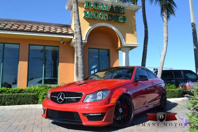 2014 Mercedes-Benz C-Class C63 AMG 507 Edition Deerfield Beach FL