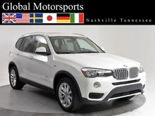 2015 BMW X3 sDrive28i/PANO/Bluetooth audio/Htd Seats/Great Value! Nashville TN