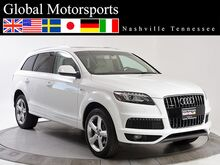 2014 Audi Q7 3.0T/PRESTIGE/AWD/Keyless start/HTD AC Seats/NAV/PANO/Loaded Nashville TN