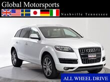 2013 Audi Q7 3.0T Premium Plus/AWD/Nav/Rear Cam/Htd Seats/Bluetooth Audio/PANO/BOSE Nashville TN