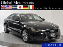 2013 Audi A6 2.0T Premium Plus/Quattro/Sport/NAV/Bluetooth Audio Nashville TN