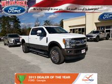 2017 Ford Super Duty F-250 SRW King Ranch 4WD Crew Cab 6.75' Box Augusta GA