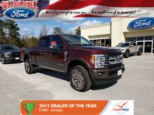 2017 Ford Super Duty F-350 SRW King Ranch 4WD Crew Cab 6.75' Box Augusta GA