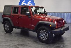 2013 Jeep Wrangler Unlimited RUBICON 4WD LOADED LEATHER NAV 6 SPEED LOW MILES Norman OK