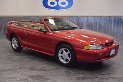 1997 Ford Mustang GT V8 CONVERTIBLE! VERY LOW MILES! DRIVES LIKE NEW! 'NEW TOP!' Norman OK