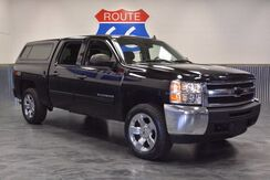 2012 Chevrolet Silverado 1500 CREWCb Z-71 4x4! LEATHER LOADED! PAINTED CAMPER SHELL! BRAND NEW ALL TERRAIN TIRES! Norman OK