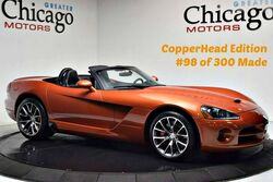 Dodge Viper Srt10 CopperHead Edition 1 of 300 Made 2015 Wheels! 2005