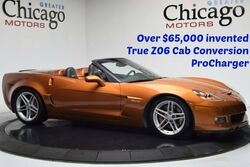 Chevrolet Corvette Z06 $65000 invested to turn into a cab 2007