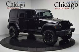 Jeep Wrangler Unlimited Sport CLEAN CARFAX! TEXAS CAR VERY CLEAN!! GREAT SERVICE HISTORY! TRIPLE BLACK!!! 2011