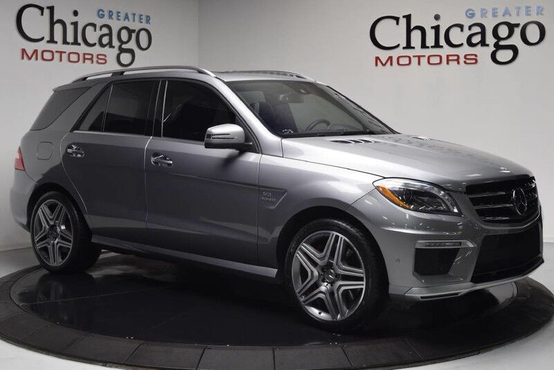 2012 Mercedes-Benz ML63 Carfax Certified Kansas Trade iN Chicago IL